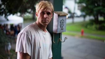 Actors ryan gosling the place beyond pines wallpaper