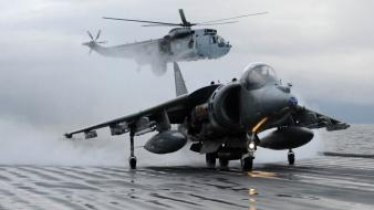 Aircraft carriers av-8b harrier wallpaper