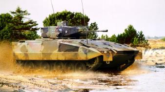 Armour nato puddles armoured personnel carrier spz wallpaper