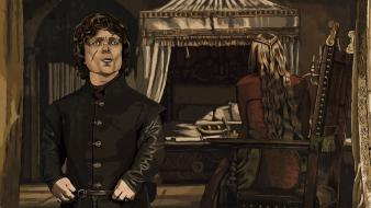 Artwork game of thrones tyrion lannister cersei wallpaper