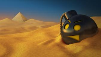 Bombs desert smiley serious sam wallpaper
