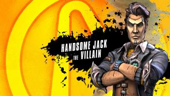 Borderlands 2 handsome jack artwork video games wallpaper