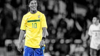 Brazil ronaldinho hdr photography football stars player wallpaper