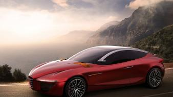 Cars alfa romeo gloria concept car wallpaper