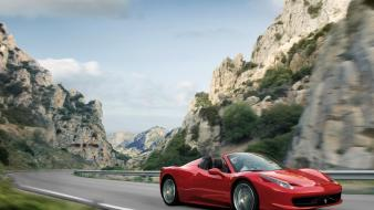Cars ferrari 458 spider Wallpaper