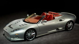 Cars metal vehicles spyder spyker c8 aileron tires wallpaper