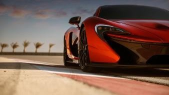 Cars races mclaren p1 wallpaper