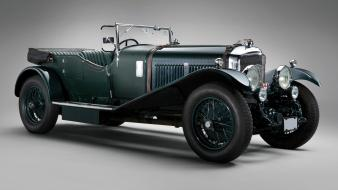 Cars retro blower bentley Wallpaper