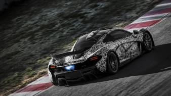 Cars track races speed mclaren p1 wallpaper