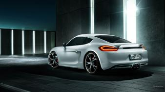 Cayman tuning s techart tuned headlights taillights wallpaper
