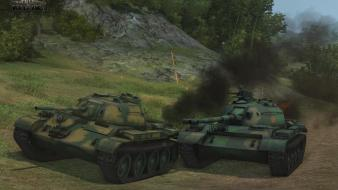Combat world of tanks online games screens wallpaper