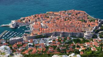Croatia dubrovnik kings landing boats cities Wallpaper