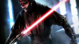 Darth maul sith star wars artwork wallpaper