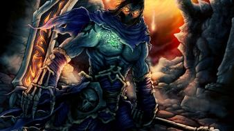 Death fantasy art dark siders 2 wallpaper