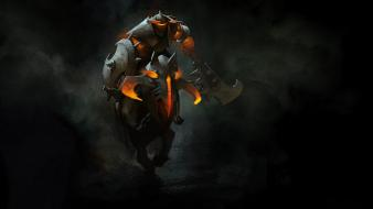 Dota 2 s.h.i.e.l.d. game art chaos knight wallpaper