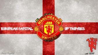 England football logos manchester united fc red devils Wallpaper