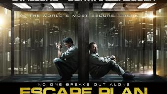 Escape plan movie wallpaper