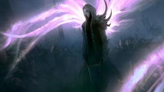 Fantasy art diablo iii archangel malthael wallpaper
