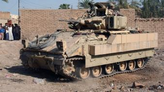 Fighting nato baghdad armoured personnel carrier fallujah wallpaper