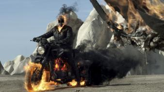 Ghost rider film wallpaper