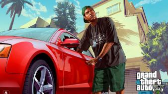 Grand theft auto lamar rockstar games wallpaper