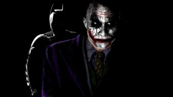 Heath ledger dark knight bruce wayne two wallpaper
