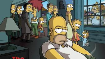 Homer simpson tv series the simpsons bart cartoons wallpaper