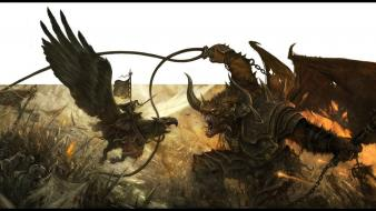 Invasion warhammer fantasy art daarken Wallpaper