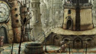 Machinarium steampunk Wallpaper