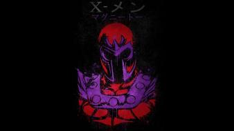 Magneto marvel comics x-men black background wallpaper