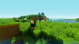 Maine minecraft craft porkchop wallpaper cube map