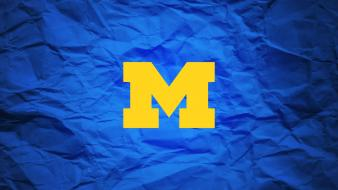 Michigan football logo wallpaper