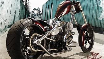 Motorbikes choppers wallpaper