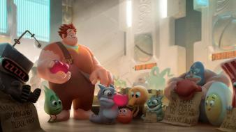 Movies film concept art wreck it ralph wallpaper