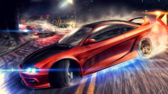 Need for speed mitsubishi eclipse drift Wallpaper