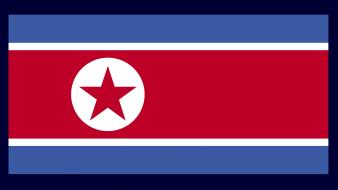 North korea flags nations Wallpaper