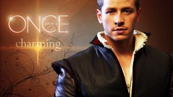 Once upon a time charming wallpaper