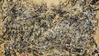 Paintings artwork jackson pollock Wallpaper