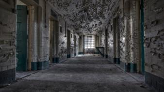 Ruins architecture buildings prison abandoned jail wallpaper