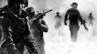 Soldiers guns call of duty: modern warfare 3 wallpaper