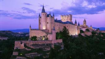 Spain architecture buildings castle castles wallpaper