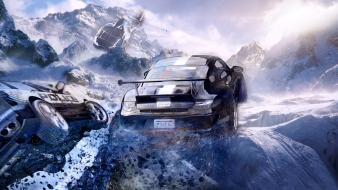 Speed crash the run skies game pursuit wallpaper