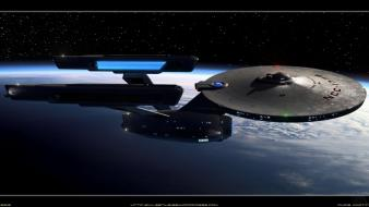 Star trek movies outer space planets spaceships wallpaper