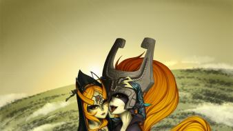 The legend of zelda midna zelda: twilight princess wallpaper