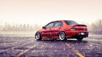 Tuning rims tuned mitsubishi lancer evolution ix Wallpaper