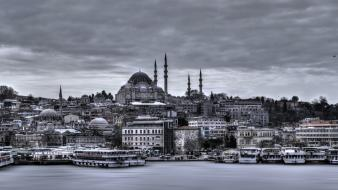 Turkey istanbul hdr photography mosque Wallpaper