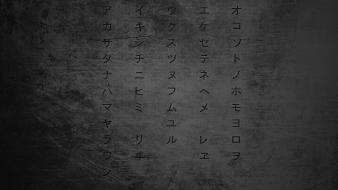 Typography katakana wallpaper