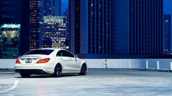 Vehicles mercedes-benz mercedes benz cls 63 automobile wallpaper