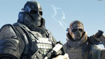Video games army of two posters screens wallpaper