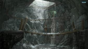 Video games lara croft posters screens wallpaper